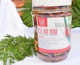 Cá bò rim mè đặc sản Đà Nẵng