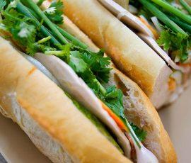 Chảy nước miếng với món bánh mì kẹp thịt của Sài Gòn
