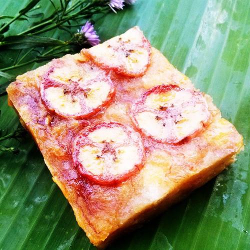 Bánh chuối - nét văn hóa ẩm thực đặc trưng của người Tày1
