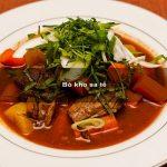 Bò kho sa tế