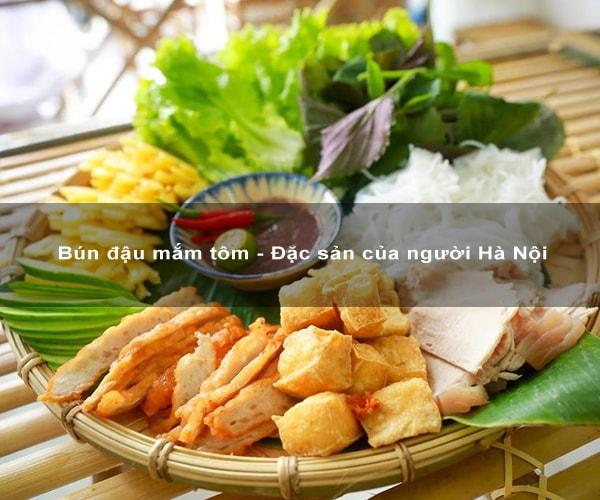 Bún đậu mắm tôm - Đặc sản của người Hà Nội
