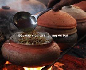 Độc đáo món cá kho làng Vũ Đại