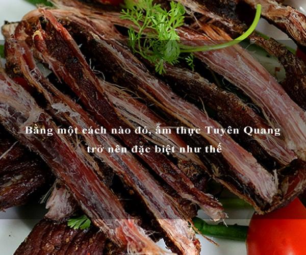 Bằng một cách nào đó, ẩm thực Tuyên Quang trở nên đặc biệt như thế 2