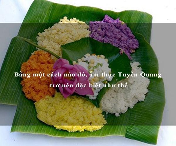 Bằng một cách nào đó, ẩm thực Tuyên Quang trở nên đặc biệt như thế 6