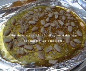 Ghé thăm mảnh đất nổi tiếng với 4 đặc sản xác lập Kỷ lục Việt Nam