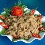 Lên Phú Thọ ăn món thịt chua